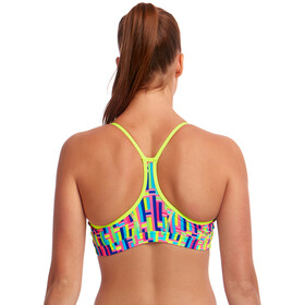 Funkita Swim Crop Top Mujer, mixed signals